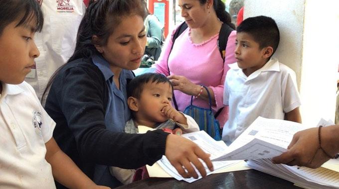 1600 Apoyos a madres solteras 2021 México